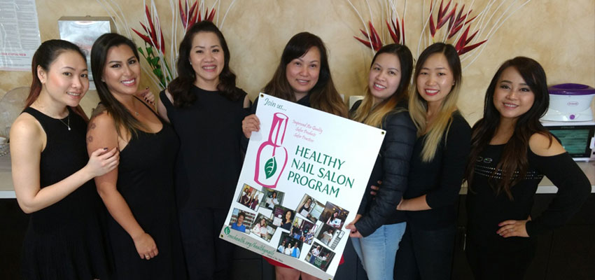 Certified Healthy Nail Salon